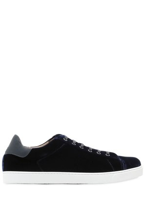 LOW TOP VELVET LOFT SNEAKERS