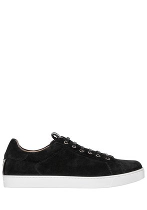 LOW TOP DAVID SUEDE SNEAKERS
