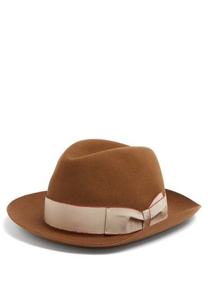 Alessandria contrast-band hat