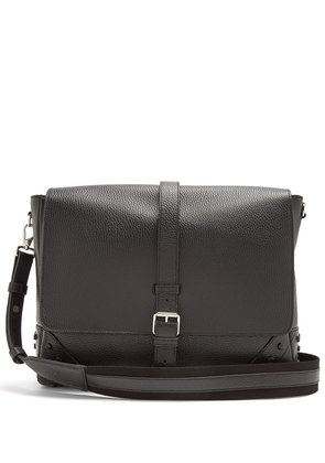 Pebbled-leather cross-body bag