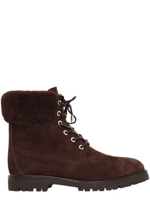 20MM THE HEILBRUNNER SUEDE BOOTS