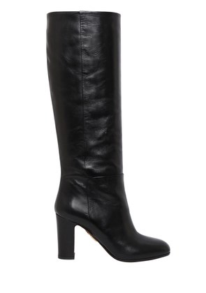 85MM BRERA LEATHER BOOTS