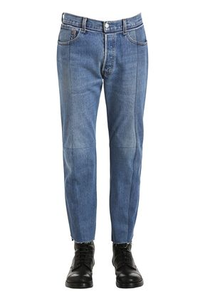 REWORKED CLASSIC DENIM CROPPED JEANS