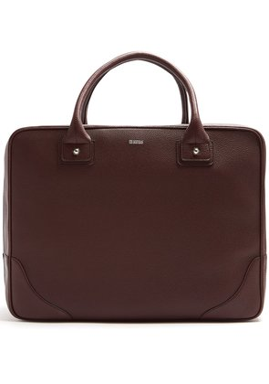 1985 grained-leather holdall