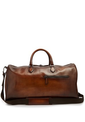 Jour-Off leather travel bag