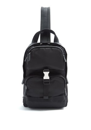 Single-strap cross-body backpack
