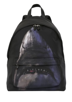 SHARK PRINTED NYLON CORDURA BACKPACK
