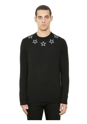 STAR PATCHES WOOL SWEATER