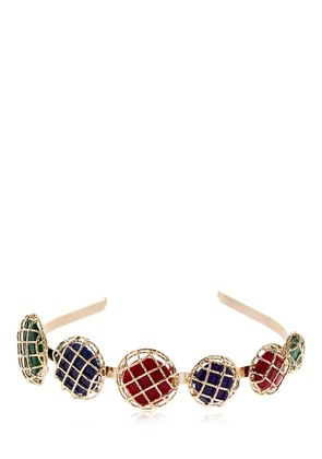 SEGRETO MULTICOLOR QUARTZ HEADBAND
