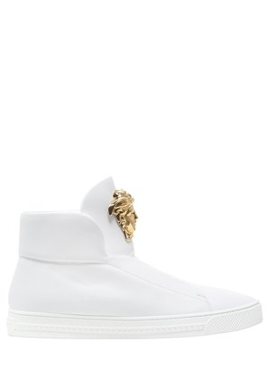 MEDUSA NAPPA LEATHER HIGH TOP SNEAKERS