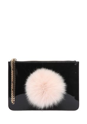 SMALL BUNNY ENVELOPE CLUTCH