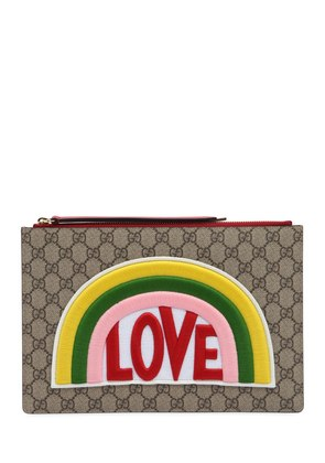 LOVE PATCH GG SUPREME POUCH