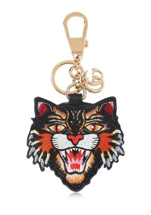 ANGRY CAT PATCH KEYCHAIN