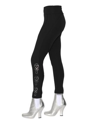 KARLITO PRINTED STRETCH JERSEY LEGGINGS