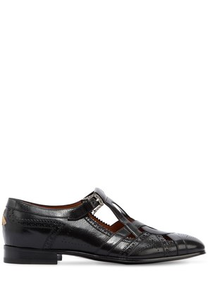 THESIS CUT OUT LEATHER LOAFERS