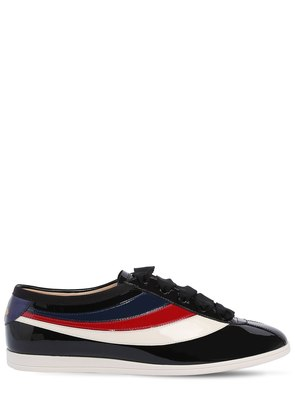 FALACER PATENT LEATHER SNEAKERS