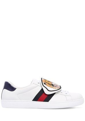 NEW ACE TIGER STRAP LEATHER SNEAKERS