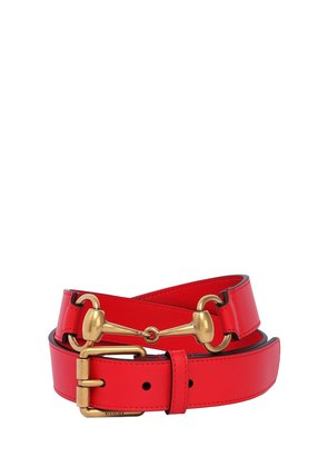 30MM HORSE BIT LEATHER BELT