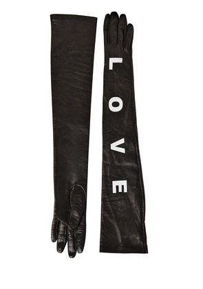 LOVE LONG NAPPA LEATHER GLOVES