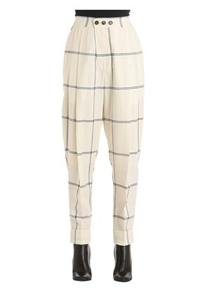 ZOOT WINDOW PANE WOOL PANTS