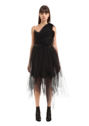 ONE SHOULDER TULLE DRESS