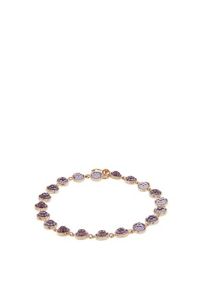 Rose de France amethyst & rose-gold bracelet