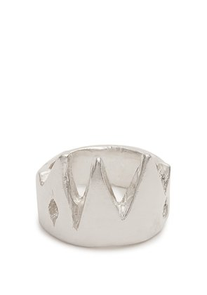 King sterling-silver ring