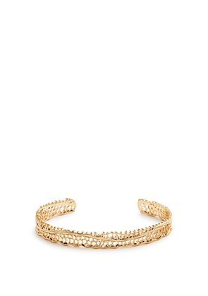 Lace yellow-gold cuff