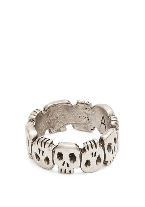 Crypt sterling-silver ring