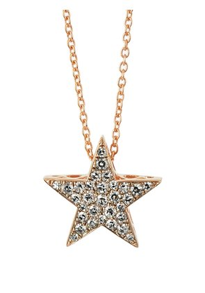 Diamond & pink-gold Istanbul necklace