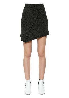 BLITHE STRETCH WOOL KNIT SKIRT