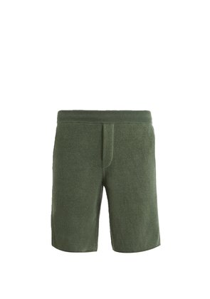 Terry-towelling knit shorts