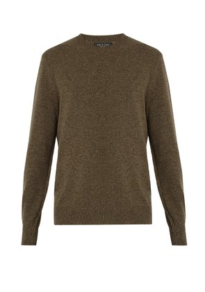 Haldon crew-neck cashmere sweater