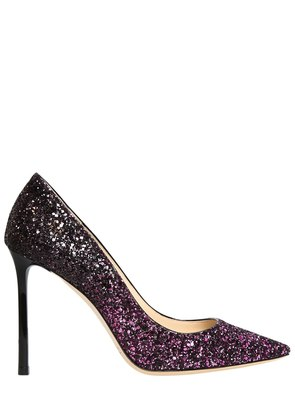 100MM ROMY GRADIENT GLITTERED PUMPS