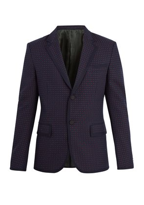 Cambridge cotton and wool-blend jacket
