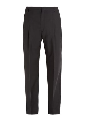Kalnar straight-leg wool-blend trousers