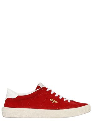 SUEDE TENNIS SNEAKERS