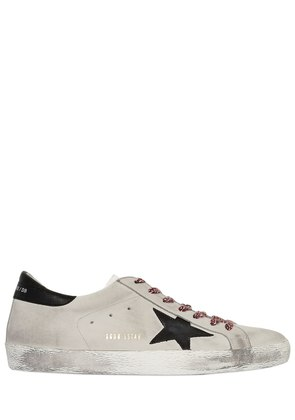 SUPER STAR NUBUCK LEATHER SNEAKERS