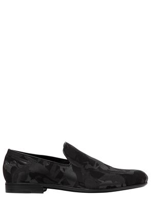WOMEN SILHOUETTES JACQUARD LOAFERS