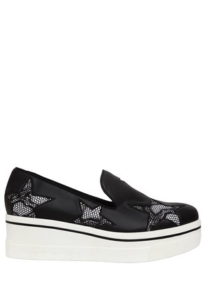 60MM BINX FAUX LEATHER SLIP-ON SNEAKERS