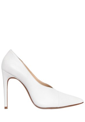 100MM CLARICE LEATHER PUMPS