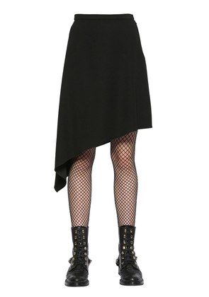 ASYMMETRICAL CADY SKIRT