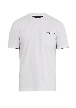 Crew neck cotton-jersey T-shirt