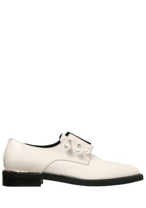 20MM FERNY PIERCING LEATHER SHOES