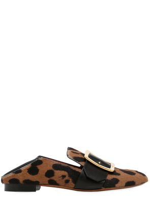 10MM JANELLE PRINTED PONYSKIN LOAFERS