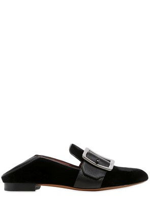 10MM JANELLE VELVET LOAFERS