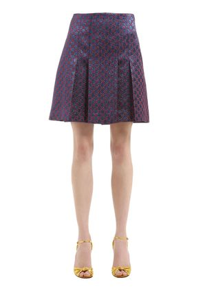 GG LUREX PLEATED SKIRT