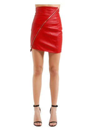 NAPPA LEATHER MINI SKIRT