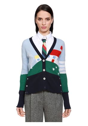 MULTICOLOR HOUSE CASHMERE KNIT CARDIGAN