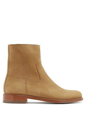 Derrick Camarguaise suede boots